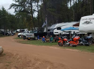 Campground and RV Park - Tomahawk Campground & RV Park - Tomahawk, WI
